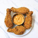 kfc style chicken drumsticks air fryer