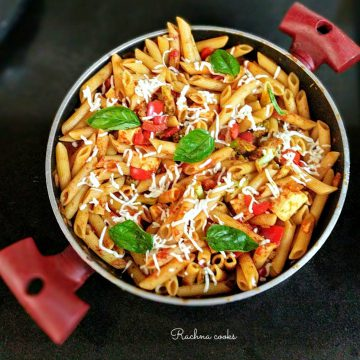 healthy red sauce pasta