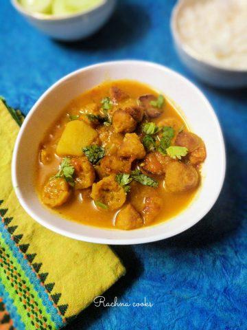 mangodi sabzi