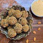 high protein popped amaranth balls