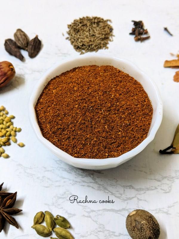 Garam Masala Recipe How To Make Homemade Garam Masala Powder Rachna Cooks
