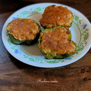 stuffed capsicum recipe