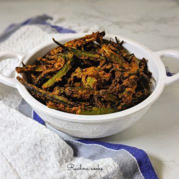 kurkuri bhindi without frying