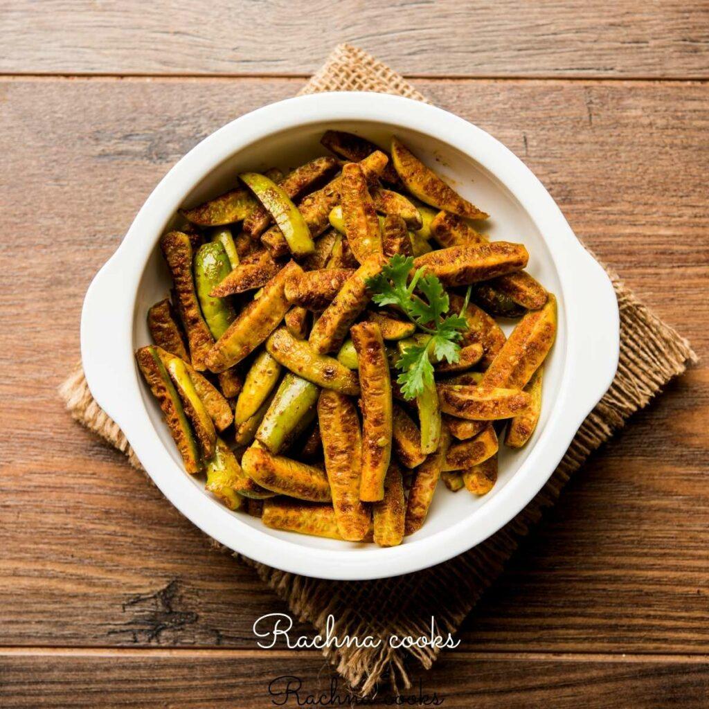 ivy gourd or tindora fry in Air fryer