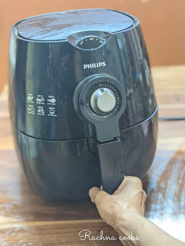 Philips air fryer after cleaning