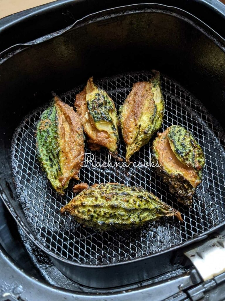 karelas air fried and ready to eat.